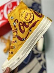 西山黄中文刺绣版KITH x Coca-Cola x Converse 1970s