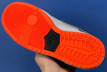 dunk sb low灰橙 红外线公司级