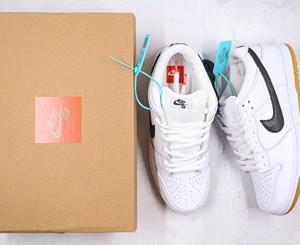 Nike SB Dunk Low Pro黑白生胶